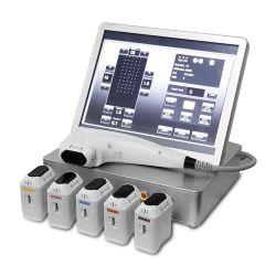 Портативный 3D Hifu основное внимание уделялось высокой интенсивности ультразвука медицинское оборудование для ухода за кожей складок