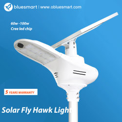 60With80W Outdoor Solar Products Powered LED Sensor Garden Street Light in Solar Products