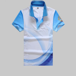 Custom Polo de Sublimation de transfert de chaleur