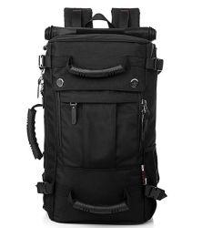 方法コンピュータのラップトップの学校のバックパック袋に上る黒い屋外の走行の肩のスポーツ