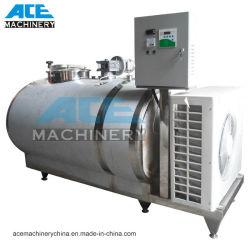 1000litres 위생 우유 냉각 탱크에 의하여 주문을 받아서 만들어지는 우유 냉각장치 큰 통 (ACE-ZLNG-1)