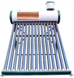 chauffe-eau solaire Pre-Heated pressurisé avec bobine de cuivre (échangeur de chaleur)