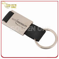 Gepersonaliseerde gravure rechthoekige metalen sleutelhouder