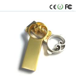 新しい猿USBのフラッシュペンのメモリ棒のキー駆動機構Uのディスクの金Mking