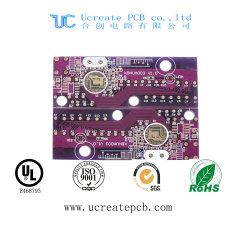 Couleur pourpre PCB Circuit avec double côté