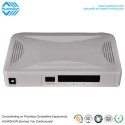 4 Puerto LAN Gpon ONU ONU Inglés Firmware modo Router puente