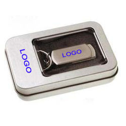 Китай флэш-накопитель USB оптовым поставщиком мини металлический поворотный USB2.0 флэш-накопитель 8 ГБ 4 ГБ 2 ГБ 1 ГБ