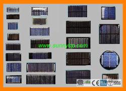 Epoxy 2V/4V/6V Ronda Panel Solar para el exterior Lámpara Solar