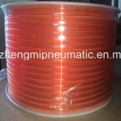 8mmの高圧カラー気送管(透過blue&transparentオレンジ)