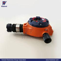 DC24V 0-100%Lel CH4/C3h8 örtlich festgelegter Gas-Detektor für Öl-und Gas-Industrie