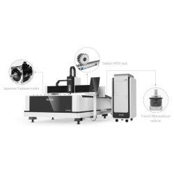 2000W de economische Scherpe Machine van de Laser van de Vezel van de Hoge Efficiency met Generator Ipg/Raycus 3 Jaar van de Garantie Lf3015ln