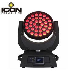 DMX RGBW светодиод 4 в 1 стадии 36*12W Zoom перемещения передних фар