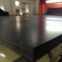 strato di plastica del PVC di colore nero rigido di 0.8mm per protezione di superficie
