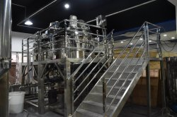 Los aceites de máquina mezcladora Pomada de equipos de mezcla de líquidos líquido la mezcla de crema