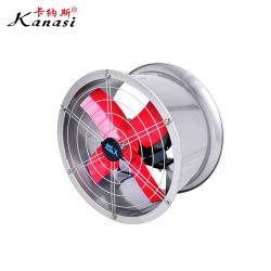 Zet de Elektrische Ronde Industriële Muur van de fabriek de Ventilator van de Uitlaat van de Ventilatie van de Ventilator van de AsStroom van de Trekker van de Zuiging op