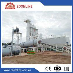 160T/H usine de traitement par lot de l'asphalte Mix, fixe l'asphalte mélangeuse