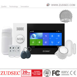 iOS/Android 기반 고품질 WiFi + GSM 무선 홈 보안 경보 시스템 앱 컨트롤