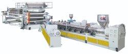 Plastique HDPE/PVC/PE/PP/LDPE Profil de l'électricité/feuille extrusion de la ligne de production