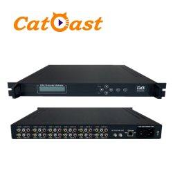 12 in 1 Modulator van de Codeur van dvb-t mepg-2/H. 264 BR (apparatuur CATV)