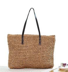 2020 OEM ручной летом пляж спицы женская сумка соломы