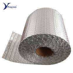 VMPET face Bulle d'air d'isolation thermique de l'emballage