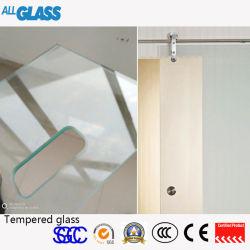 vetro Tempered piano/curvo di 4-19mm per la rete fissa del raggruppamento, piano d'appoggio di vetro, portello dell'acquazzone,