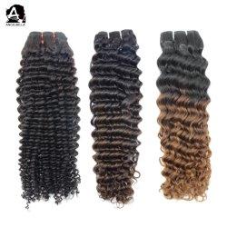 أنجيلبيلا نوعية جيدة الشعر مجعد الشعر العذراء البشرية الشعر خفة ل الحفلات