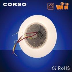 Limite máximo de LED do ventilador de refrigeração do ar-condicionado moderno Lâmpada Inteligente com motor DC,Remote, APP,AI,Obscurecimento contínuo,,CCT para a sala de estar,Beedroom, sala de jantar,Office