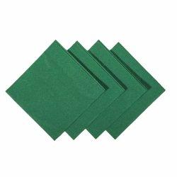 맞춤형 로고 인쇄 판매 럭셔리 1/4폴드 냅킨 종이 조직