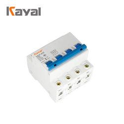 Бесплатный образец Четырехполюсный C45 50Гц 60Гц мини-прерыватель цепи