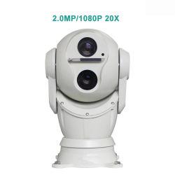 2MP 360 gradi di rotazione 1080P di macchina fotografica montata su veicolo del laser PTZ