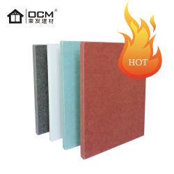 Matériau ininflammable ignifuge /étanche panneau extérieur /Revêtement mural/Siding le silicate de calcium/fibre de ciment d'administration