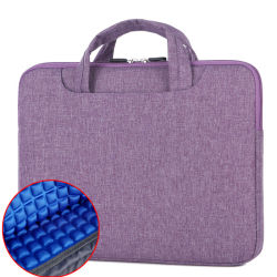저렴한 휴대용 13.3인치 컬러 충격 방지 초박형 노트북 가방
