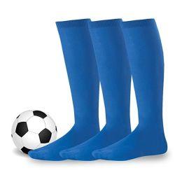 Kind-Fußball trifft des Jungen-Fußball-Socken-Kindes über Knie-Ebenen-Socken-langen Fußball-Strumpf-Männern über Knie-hohem Socken-Baseball hart