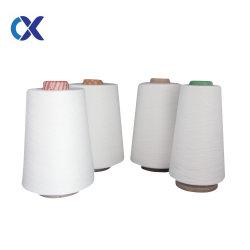 21S/1 Matières ciré blanc 100% polyester filé