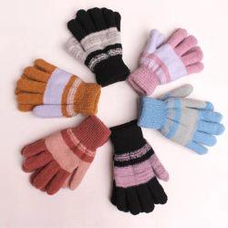 Fleur de la marque Horse Winter chaud plus chauds gants Lady mitaines doigt
