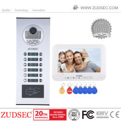 Los botones de Direct-Call RFID Multi-Apartment /Familia Video Portero Sistema Intercom