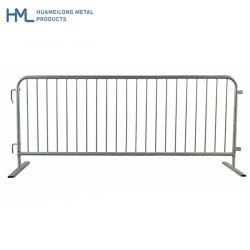 Commerce de gros bon concert escamotable de barrières de contrôle des foules de métal pour la vente