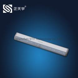 Wiederaufladbarer batteriebetriebener LED-PIR-Bewegungssensor Schrank Nacht Notfall Lampe für Möbel und Kleiderschrank