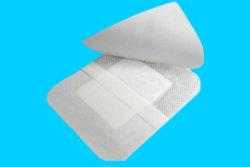 Tailles de nontissés Alginate stérile un pansement pansement médicaux jetables Tampon absorbant pour la chirurgie