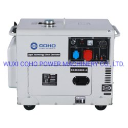 6 квт дизельного Silent генераторные установки с 3 этапа