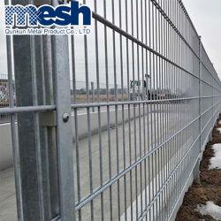 PE металла с покрытием престиж двойной проволочное заграждение для защиты