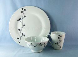 中国の工場Ceramincのディナー・ウェアの卸売の磁器テーブルウェア安い石器