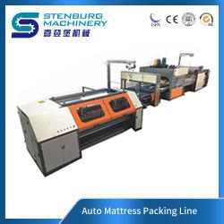 Linea di macchine per l'imballaggio automatico del materasso