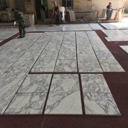 Preensamble & Servicio confiable de piedra natural de mármol blanco Arabescato