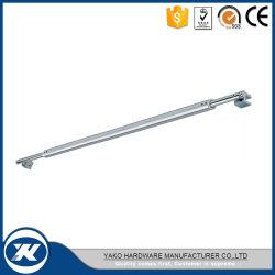 Yakoのシャワーガラスの調節可能な管のコネクターは安定させるステンレス鋼のサポート・バー(YCB-001BR)を