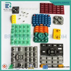Мембранный переключатель высокого качества с помощью силиконового герметика нажатием кнопки клавиатуры с тисненым рисунком на ощупь