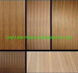 Siermooie Decoratieve Ash/Oak/Cherry Wood/Timber/Lumber Veneer Poplar Plywood