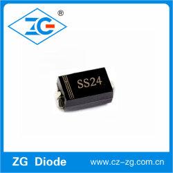 Ss24 zet de Oppervlakte van SMA 40V de Gelijkrichter van de Barrière op Schottky