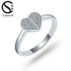 Juwelen 925 van de Ring van de Manier van China In het groot Echte Zilveren Juwelen